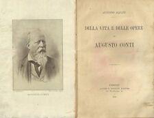 Della Vita e Delle Opere di Augusto Conti - Augusto Alfani 1906