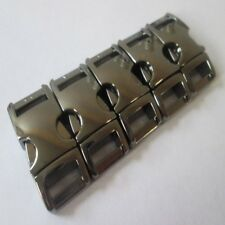 5X 3/8 STAINLESS STEEL PARACORD BRACELET BUCKLEs 10MM WEBBING QUICK SIDE RELEASE