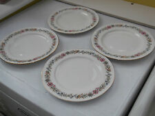 FOUR PARAGON SIDE PLATES IN BELINDA PATTERN  A FLORAL PATTERN  BACKSTAMPS WHOLE