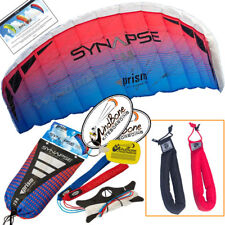 Prism Synapse 200 Coho Foil Power Parafoil Stunt Kite + Padded Straps Accessory
