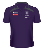 Fremantle Dockers 2020 Media Polo Sizes Small - 5XL Purple/Carbon AFL ISC New