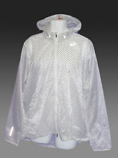 NIKE CYCLONE VAPOR Men's Running Cycling Rain Jacket ultra-lightweight White XXL