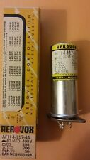 NOS, Vintage Aerovox AFH 4-117-44 UNIVERSAL Capacitor IN BOX FREE SHIPPING !