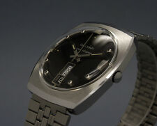 New Old Stock 34mm DELKAR LAS VEGAS vintage AUTOMATIC watch NOS AS 1866