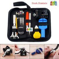 Set outils Kit réparation montre Horlogerie 144 pièces bricolage outil by