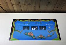 BALLY MIDWAY GALAGA Arcade Machine Dedicated Control Panel Overlay CPO UV Inks