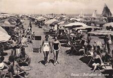 CERVIA - Ombrelloni al mare 1957