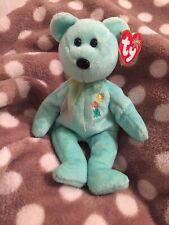 New listing Ty Beanie Baby Bears Beanies Babies Original Ariel Memory Bear Rare Heart Tag Gc