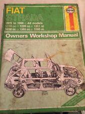 HAYNES MANUAL 479 FIAT STRADA 1979 to 1988  , FREE UK POSTAGE
