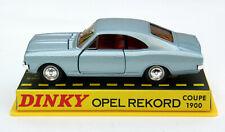 Opel Rekord C Coupé - Modell Bj. 1967-1972, M.1:43, blaumet., Dinky Toys / Atlas