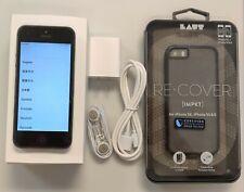 iPhone 5, Black, 16GB Factory Unlocked 4G LTE ATT Tmobile Metro Cricket