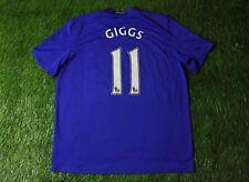 MANCHESTER UNITED # 11 GIGGS 2008-2009 FOOTBALL SHIRT JERSEY THIRD NIKE ORIGINAL