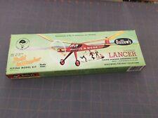 GUILLOW'S LANCER RUBBERE POWERED FLYING MODEL BALSA KIT