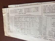 m7-4 ephemra 1889 leeds the north train timetable feb to april schedule