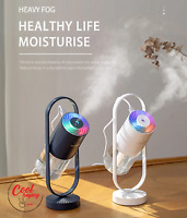 NEW Portable USB Air Humidifier Aroma Diffuser Remote Control Colors LED Light