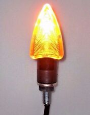 4 X Motorcycle Turn Signals Amber Light For HARLEY CVO DYNA FAT BOB WIDE GLIDE
