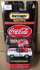 Coca Cola Matchbox 1969 Chevy Camaro SS-396 1/64 Scale Die Cast Toy Car NIB