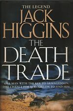 THE DEATH TRADE H/B 1ST ED+RAIN ON THE DEAD+THE MIDNIGHT BELL BY JACK HIGGINS