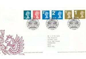 GB 2006 MACHINS FDC FIRST DAY COVER... £0.12 TO 1ST LARGE