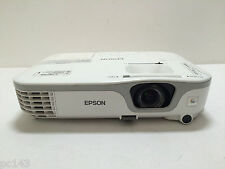EPSON EB-S11 3LCD PROJECTOR USED/UNTESTED FOR SPARE PARTS LAMP WARNING  REF:1009