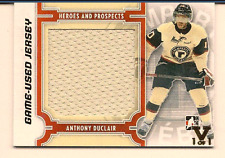 ANTHONY DUCLAIR IN THE GAME ITG FINAL VAULT GAME USED JERSEY 1/1