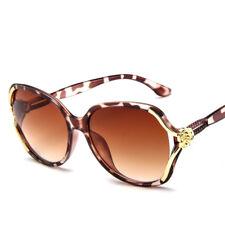 New Women Sunglasses Gold Flower Shades Vintage Glasses Summer Trend Eyewear