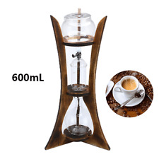 Dutch Coffee Cold Drip Water Drip Brew Coffee Maker Machine W Filter Paper 600mL