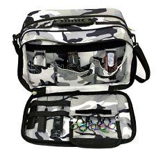 Kassaki Pro Hairdressing Tool Carry Salon Storage Travel Bag Grey Case Damaged