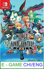 Nintendo Switch World of Final Fantasy Maxima ★Brand New & Sealed★