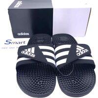 NIB SIZES 1Y-6Y YOUTH adidas Adjustable Strap Slides Sandals Kids Boys Girls NEW