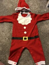 Santa Outfit 6-9 Months