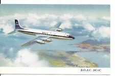 Postcard - B.O.A.C. DC-7C - Uncirculated