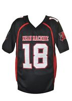 Paul Crewe Football Jersey Stitch Sewn Patch Shirt Mean Longest Free Shipping