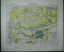 India.bundelkhand To Khandeish Berar.gujerat Antiques Goondwana Bhopal Sduk 1844 Map