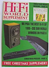 More details for hi-fi world supplement christmas 1995 the best hi-fi of 1995 christmas puzzles