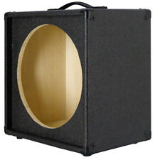 "1X15 Empty Guitar Speaker Cabinet For 15"" JBL E130 or E140 Charcoal Black Tolex"