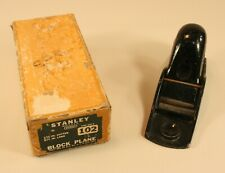 Stanley No. 102 Block Plane with Box, IOB