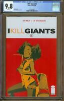 I Kill Giants #3 Image 2008 CGC 9.8 White Pages - 1st Print