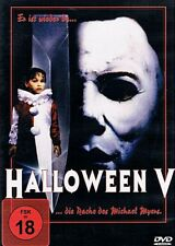 Halloween V - Die Rache des Michael Myers ( Horror Kult ) mit Donald Pleasence