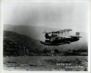 WESTERN AIR EXPRESS KEYSTONE-LOENING C2H AMPHIBIAN LARGE VINTAGE AIRLINE PHOTO