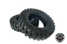 "Rubber 1.75"" Tire (2 pcs) fit for 1/12 Scale Soviet ZIS-150/CA10 4x2 R/C Truck"