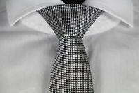 HUGO BOSS TAILORED KRAWATTE, Seide, Hand Made in Italy, Open Grey