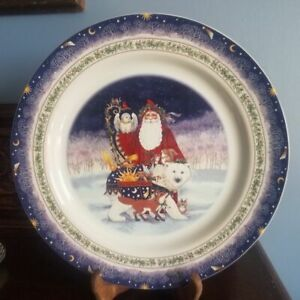 "Natural Wonders CHRISTMAS 1997 Plate J.A. Griffith Plate  - Large 12 1/4"" dia."
