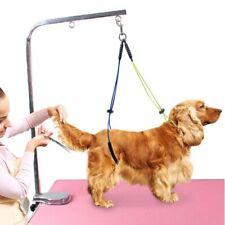 Pet Harness No-Sit Per Haunch Holder Dog Grooming Restraint Harness Leash Loop