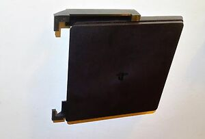 Wall mount brackets for PS4 SLIM CONSOLE, with mounting screws, (black)