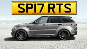 SP17 RTS, SPORTS, SPORT, Range, Rover, Private Plate, Cherished Number, Reg