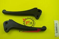 F3-2205573 Par de Palancas DX+SX Freno+Embrague Piaggio Vespa PK 50 125 Negro