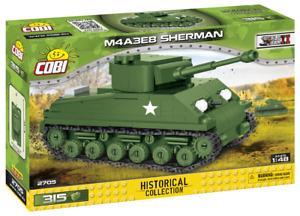 Cobi 2705 M4A3E8 Sherman SCALE 1:48 Bausatz 315 Teile