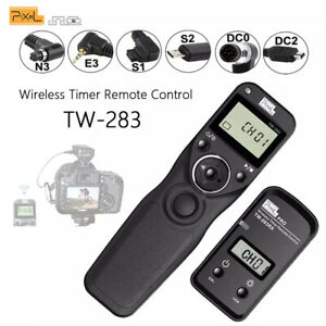 Pixel TW-283 TW283 Wireless Timer Remote Control Shutter Release DC0 DC2 N3 E3