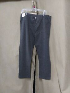Justice Girls Crop Pedal Leggings Size 18 gray   NEW WITH TAGS